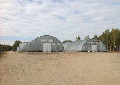 Бежецк, Тверская область, действующий комплекс на 10 000 тонн картофелехранилище