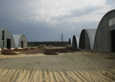 г.Рыльск, Курская обл., строительство 2010 год
